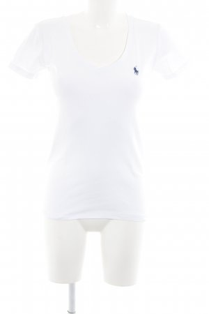 Ralph Lauren Sport Sportshirt weiß sportlicher Stil