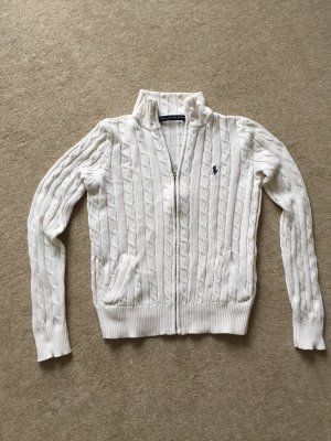Ralph Lauren Sport Cable Sweater natural white