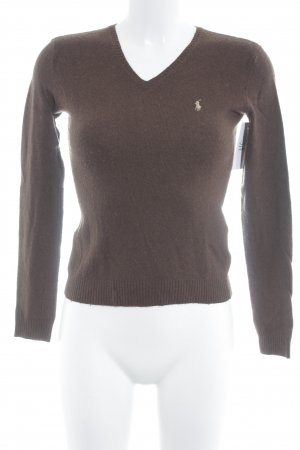 Ralph Lauren Sport Strickpullover braun Casual-Look