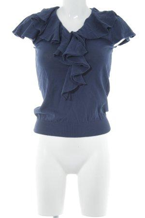 Ralph Lauren Sport Strickshirt dunkelblau Elegant