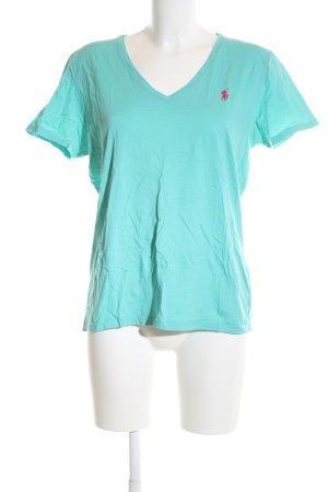 Ralph Lauren Sport T-Shirt türkis Casual-Look