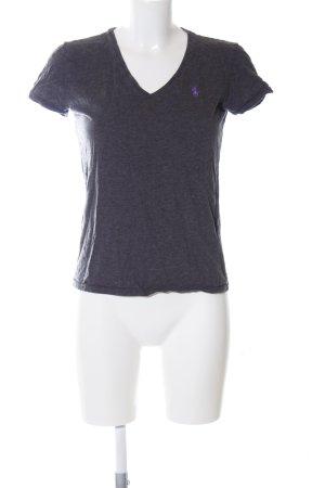 Ralph Lauren Sport T-Shirt schwarz meliert Casual-Look