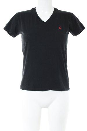 Ralph Lauren Sport T-Shirt schwarz Casual-Look