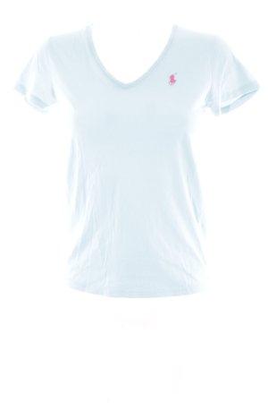 Ralph Lauren Sport T-Shirt babyblau Casual-Look