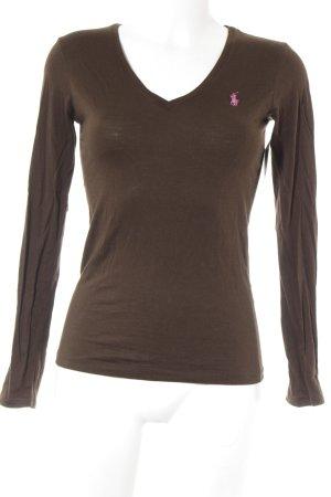 Ralph Lauren Sport T-Shirt braun-pink klassischer Stil