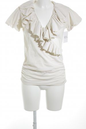 Ralph Lauren Sport T-Shirt creme Wickel-Look