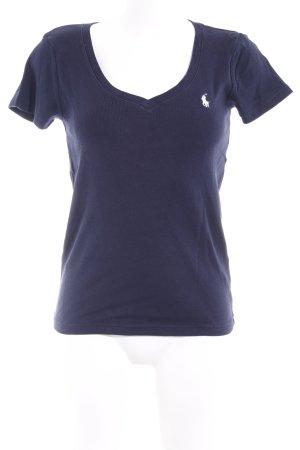 Ralph Lauren Sport T-Shirt dunkelblau Casual-Look