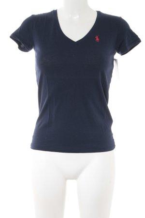 Ralph Lauren Sport T-Shirt dunkelblau schlichter Stil