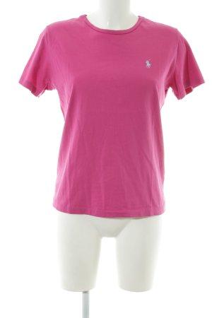 Ralph Lauren Sport T-Shirt pink Casual-Look