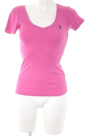 Ralph Lauren Sport T-Shirt pink schlichter Stil