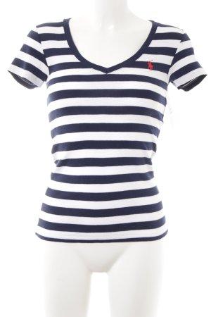 Ralph Lauren Sport T-Shirt Ringelmuster Casual-Look