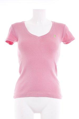 Ralph Lauren Sport T-Shirt rosa schlichter Stil