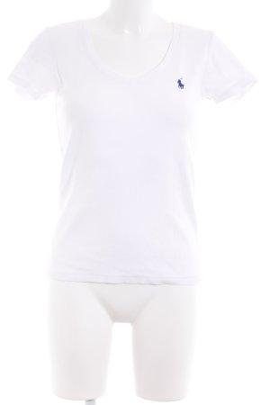 Ralph Lauren Sport T-Shirt weiß Casual-Look