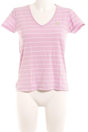 Ralph Lauren Sport T-Shirt weiß-rosa Casual-Look