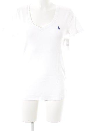 Ralph Lauren Sport T-Shirt weiß schlichter Stil