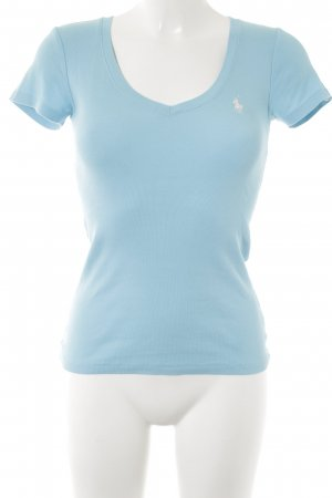 Ralph Lauren Sport V-Ausschnitt-Shirt hellblau Casual-Look