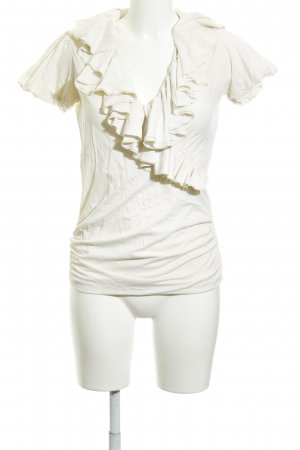 Ralph Lauren Sport Maglietta aderente beige chiaro stile bondage