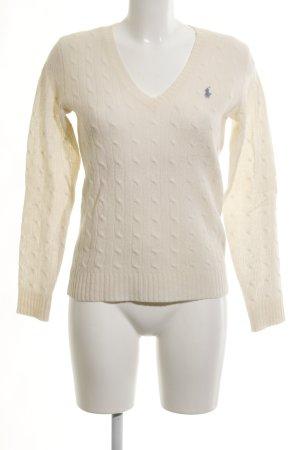 Ralph Lauren Sport Wollpullover wollweiß Casual-Look