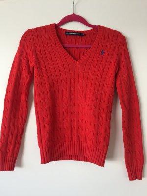 Ralph Lauren Sports Pullover rot Größe XS