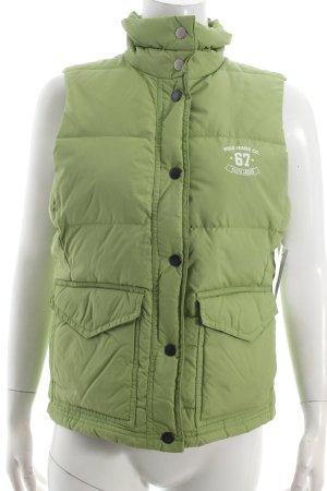 Ralph Lauren Steppweste grün sportlicher Stil