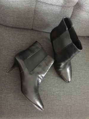 Ralph Lauren Stiefelette Leder schwarz Größe 38