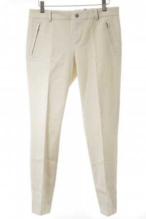 Ralph Lauren Stoffhose creme Business-Look