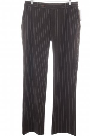 Ralph Lauren Stoffhose dunkelbraun-hellbeige Nadelstreifen Business-Look