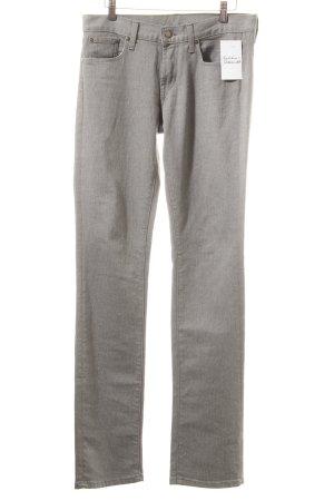 Ralph Lauren Straight-Leg Jeans grau klassischer Stil