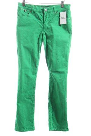 Ralph Lauren Straight-Leg Jeans grün Casual-Look