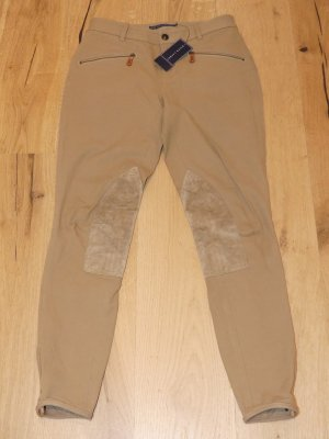 Ralph Lauren Riding Trousers light brown cotton
