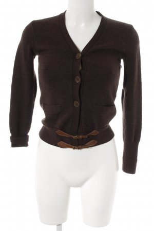 Ralph Lauren Strick Cardigan braun Casual-Look