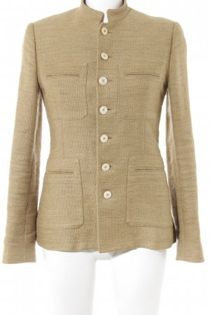 Ralph Lauren Strickblazer camel Casual-Look