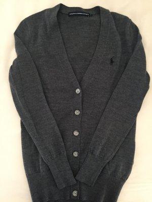 Ralph Lauren Strickjacke 100%Wolle grau