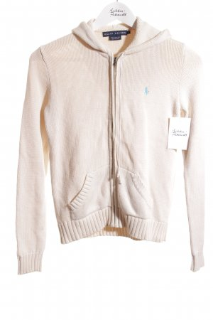 Ralph Lauren Strickjacke creme Casual-Look