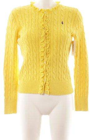 Ralph Lauren Strickjacke gelb Casual-Look