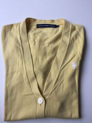 Ralph Lauren Strickjacke, gelb, Gr.: 36/S