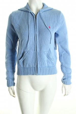 Ralph Lauren Strickjacke hellblau Casual-Look