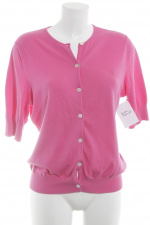 Ralph Lauren Strickjacke pink College-Look
