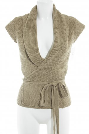 Ralph Lauren Cardigan sand brown casual look