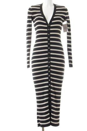 Ralph Lauren Strickjacke schwarz-beige Streifenmuster Casual-Look