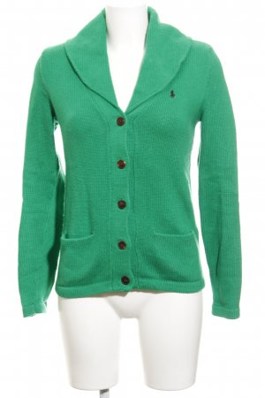 Ralph Lauren Strickjacke waldgrün Casual-Look