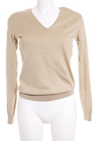 Ralph Lauren Strickpullover beige Casual-Look