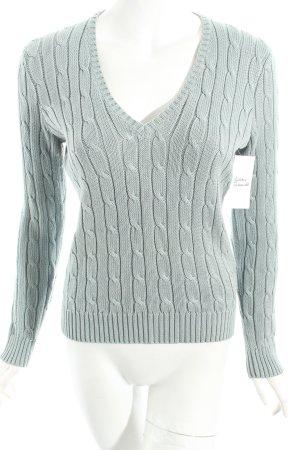Ralph Lauren Strickpullover graugrün Casual-Look
