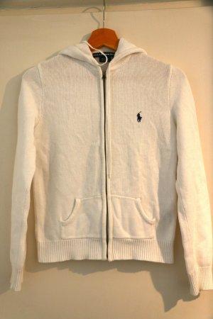 Ralph Lauren Sport Jersey con capucha blanco Algodón