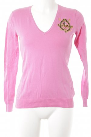 Ralph Lauren Strickpullover pink Street-Fashion-Look