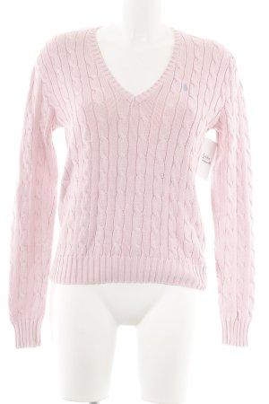 Ralph Lauren Strickpullover rosa Casual-Look