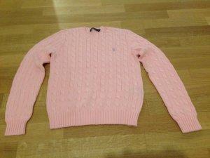 Ralph Lauren Strickpullover rosa, Gr. M