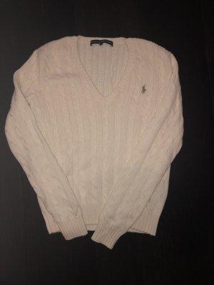 Ralph Lauren Sport Wool Sweater natural white