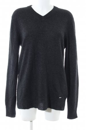 Ralph Lauren Knitted Jumper black flecked casual look