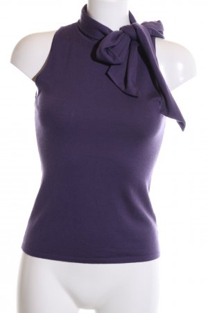 Ralph Lauren Top de punto lila estilo «business»
